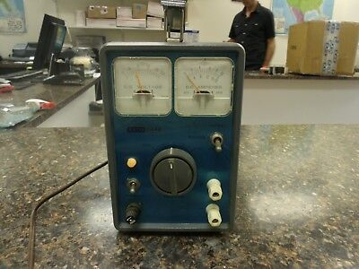 Vintage Eico Battery Eliminator and Charger Model 1064s Blue   #4so