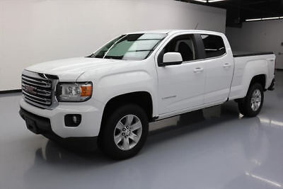 2015 GMC Canyon SLE Crew Cab Pickup 4-Door 2015 GMC CANYON SLE CREW 4X4 REAR CAM TONNEAU COVER 30K #128053 Texas Direct