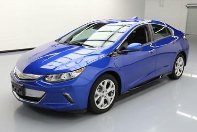 2017 Chevrolet Volt Premier Hatchback 4-Door 2017 CHEVY VOLT PREMIER HYBRID LEATHER NAV REAR CAM 13K #108762 Texas Direct