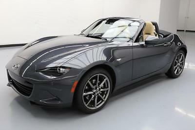 2016 Mazda MX-5 Miata  2016 MAZDA MX-5 MIATA GRAND TOURING ROADSTER NAV 18K MI #110806 Texas Direct