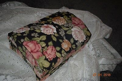 Old French Boudoir Box Cabbage Roses Beautiful