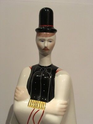 Budapest A Qvincum Porcelain Hugarian Man Traditional Dress Costume Handpainted