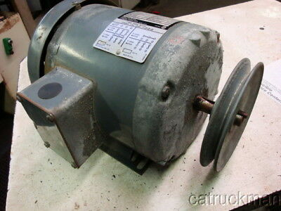 Rockwell Delta 1 HP, 1750RPM, 56YZ Fr., TEFC, 3 Phase Electric Motor