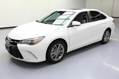 2015 Toyota Camry  2015 TOYOTA CAMRY SE SUNROOF REAR CAM BLUETOOTH 17K MI #047164 Texas Direct Auto