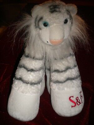 Collector's Plush Siegfried And Roy White Bengal Tiger