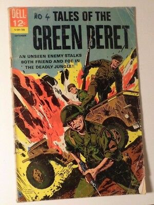 Tales of the Green Beret #4 Dell Comics1967 Good