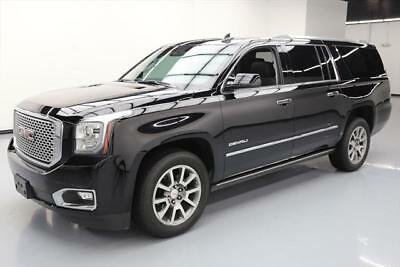 2016 GMC Yukon Denali Sport Utility 4-Door 2016 GMC YUKON XL DENALI 7-PASS SUNROOF NAV HUD DVD 43K #119179 Texas Direct