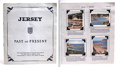 Album Completo Jersey -Past And Present- Iª And Iiª Series -Cigarette Cards 1932