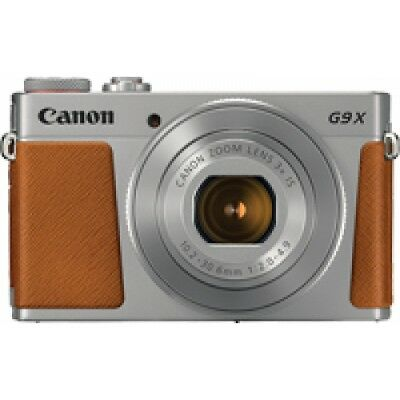 Canon PowerShot G9 X Mark II Silver Digital Camera