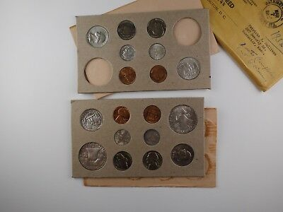 1956 U.S. Complete Original Naturally Toned Double Mint 18 Coin Set 10 Silver PD