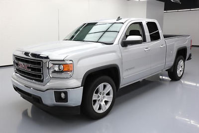 2015 GMC Sierra 1500 SLE Extended Cab Pickup 4-Door 2015 GMC SIERRA SLE DBL CAB 6-PASS REAR CAM 20'S 53K MI #305040 Texas Direct