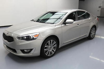 2014 Kia Cadenza  2014 KIA CADENZA PREMIUM NAV REAR CAM HTD LEATHER 41K #164049 Texas Direct Auto