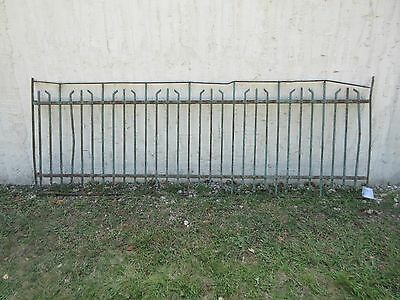 Antique Victorian Iron Gate Window Garden Fence Architectural Salvage #779