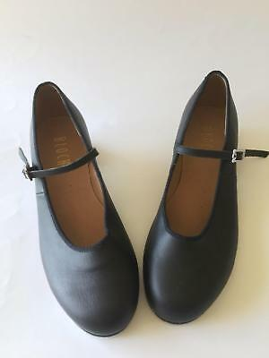 Bloch Ladies Black Tap Dancing Shoes Size 9 - in Very Good Condition