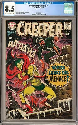 Beware the Creeper #1 CGC 8.5 (OW-W)