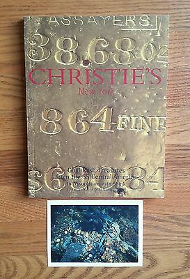 The SS Central America Ship Wreck Treasure Christies Auction Catalog 12/2000