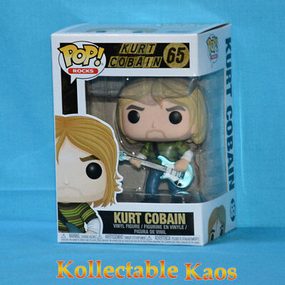 Nirvana - Kurt Cobain Teen Spirit Pop! Vinyl Figure #65