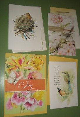 Lot Hallmark Marjolein Bastin Greeting Cards Easter Glitter, Mom Bday, Friend