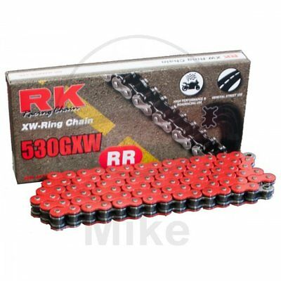 RK XW-RING RED 530GXW/118 CHAIN RIVET SUZUKI 1250 GSF N Bandit 2007-2010