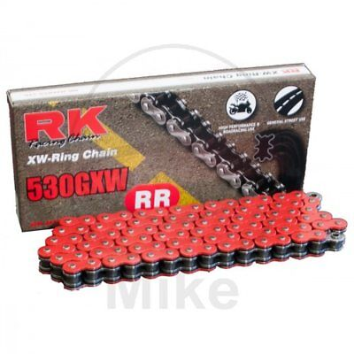 RK XW-RING RED 530GXW/118 CHAIN RIVET SUZUKI 1250 GSF S Bandit A. 2007-2010