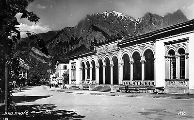 Suisse (St Gall) Bad Ragaz - Carte Photo 1933