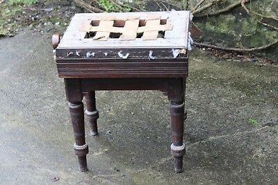 Rosewood Piano Stool for Restoration