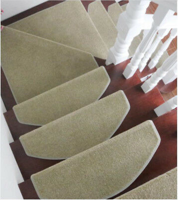 A49 5PCS Skid Resistance Household Step Rug Stair Tread Mat Carpet 75X24CM Z