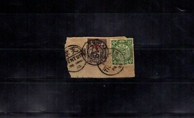 1621 China Stamps Used On Paper HCV Very RARE $$$