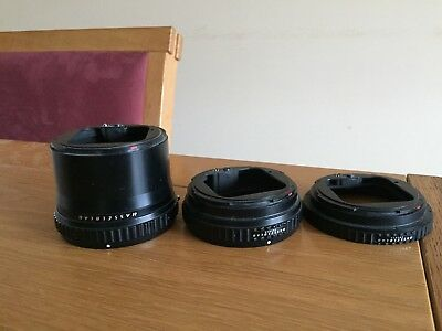 Hasselblad set of extension tubes for 555ELD , 500CM etc