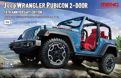 MENG 1/24 Jeep Wrangler Rubicon '10th Anniversary Edn.' #CS-003 *New Release*
