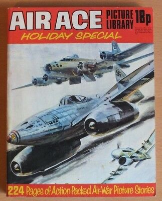 AIR ACE PICTURE LIBRARY HOLIDAY SPECIAL: 1973. 224 pages 18p cover price.