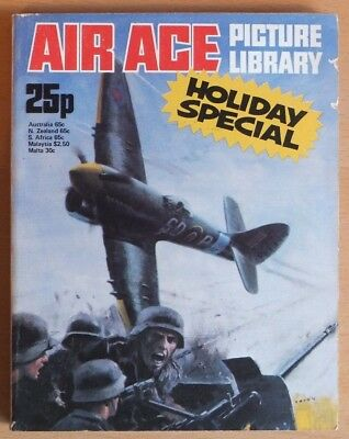 AIR ACE PICTURE LIBRARY HOLIDAY SPECIAL: 1976. 192 pages 25p cover price.