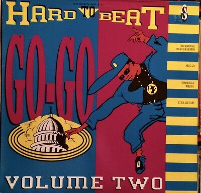Hard To Beat - Go-Go - Volume Two  ( Lp - 1989 )