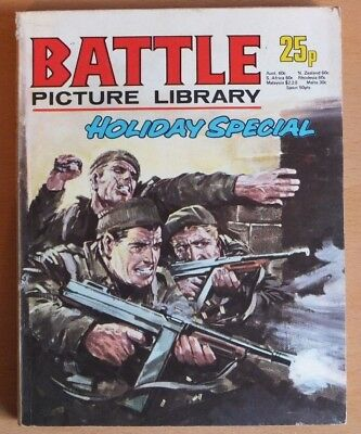 BATTLE PICTURE LIBRARY HOLIDAY SPECIAL: 1975. 192 pages 25p cover price.
