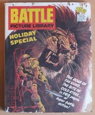BATTLE PICTURE LIBRARY HOLIDAY SPECIAL: 1976. 192 pages 25p cover price.