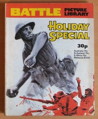 BATTLE PICTURE LIBRARY HOLIDAY SPECIAL: 1977. 192 pages 30p cover price.