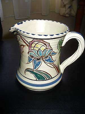 Honiton Pottery Hand Painted  Jug No. 25
