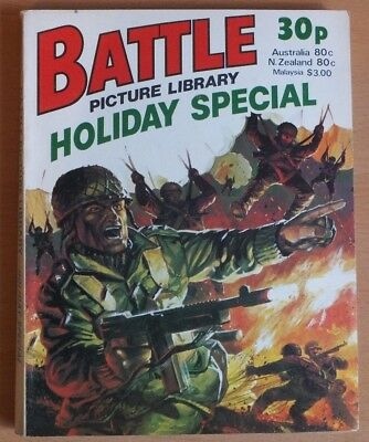 BATTLE PICTURE LIBRARY HOLIDAY SPECIAL: 1978. 192 page comic 30p cover price.