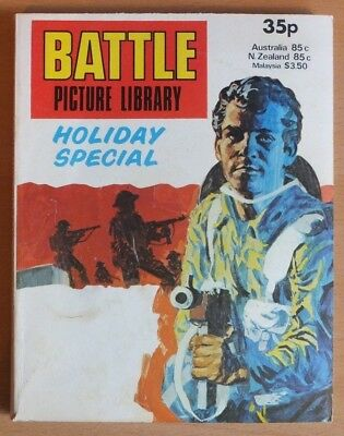 BATTLE PICTURE LIBRARY HOLIDAY SPECIAL: 1979. 192 page comic 35p cover price.