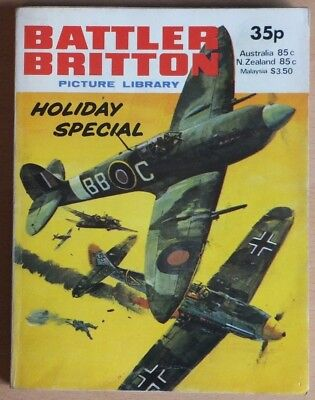 BATTLER BRITTON PICTURE LIBRARY HOLIDAY SPECIAL: 1979. 192 pages 35p cover price