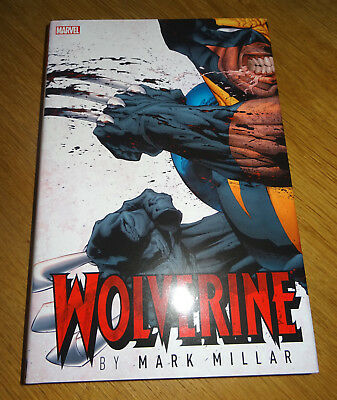 Wolverine Marvel Omnibus Hardcover by Mark Millar RARE & Out of Print Near Mint