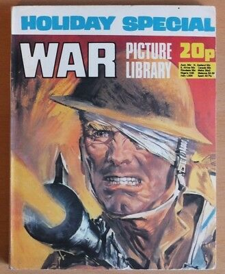 WAR PICTURE LIBRARY HOLIDAY SPECIAL: 1974. 192 page comic 20p cover price.