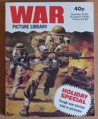 WAR PICTURE LIBRARY HOLIDAY SPECIAL: 1980. 192 page comic book, 40p cover price.