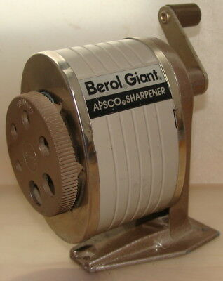 Bleistiftspitze Spitzmaschine BEROL GIANT APSCO SHARPENER USA.