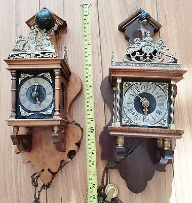 Clocks Warmink Dutch Zaanse Chain Driven For Spares Repairs