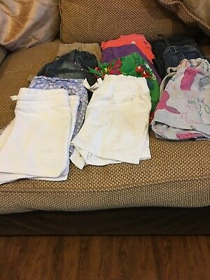 12 pairs of girls shorts