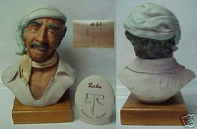 Porcelain Bust By Edward J. Rohn Gypsy Limited Edition Mint Condition