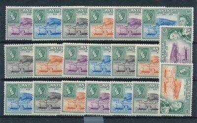 [83816] Antigua 1962 5x good sets Very Fine MNH stamps
