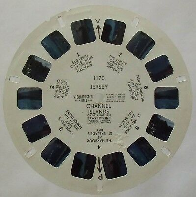 View Master 3D Bildscheibe - 1170 - Jersey | Channel Islands