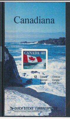 [83938] Canada good complete booklet Very Fine Adhesive